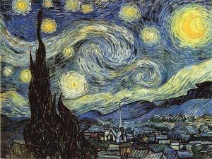 """VINCENT VAN GOGH- """"Noche estrellada"""", 1889"""