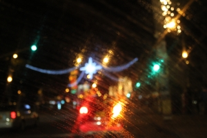cristales de noche