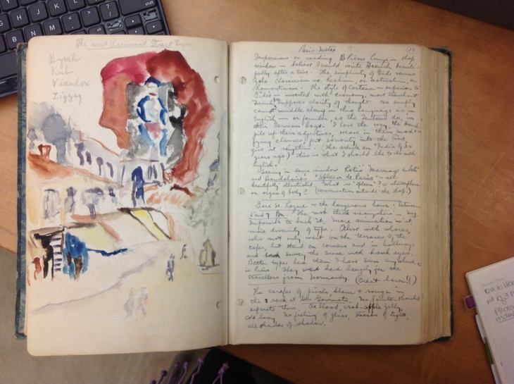 Henry-Miller-Paris-Diaries-Watercolor