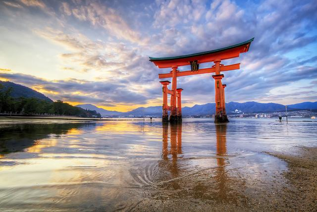 The Floating Gate of Itsukushima Shrine