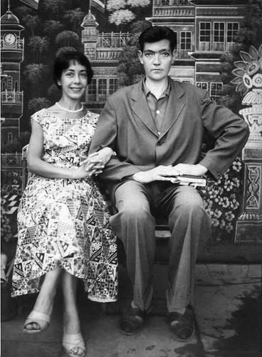 Aurora Bernárdez y Julio Cortázar -