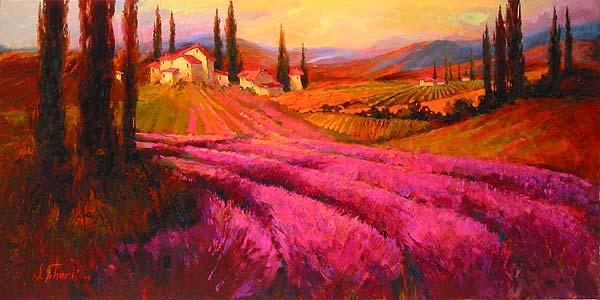 Lavender twilight