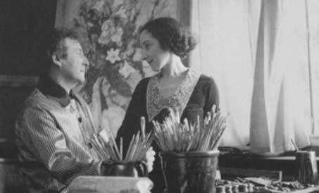 marc chagall y bella rosenfeld