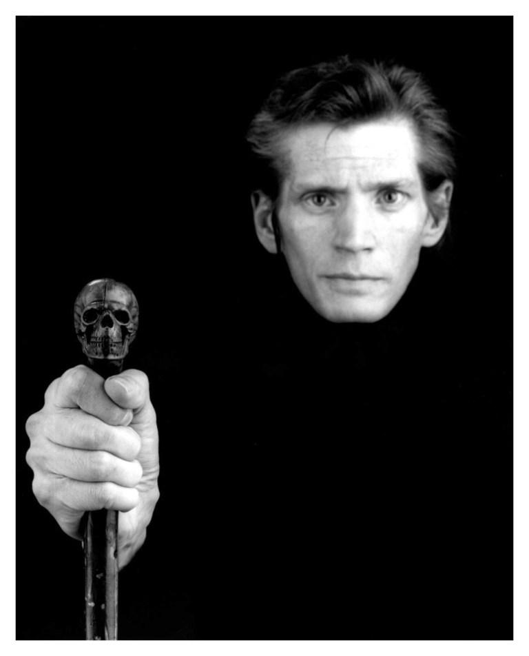 Robert Mapplethorpe, Selfportrait, 1988