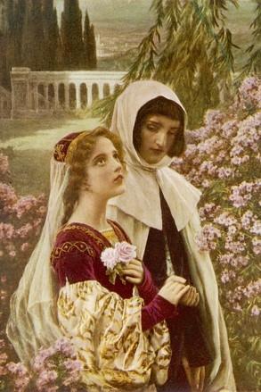 Dante y Beatrice