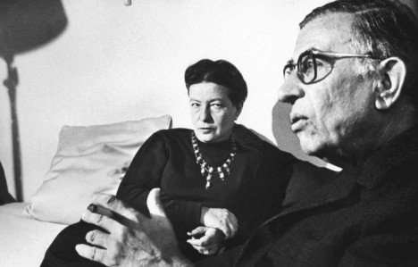Jean-Paul Sartre y Simone de Beauvoir 3