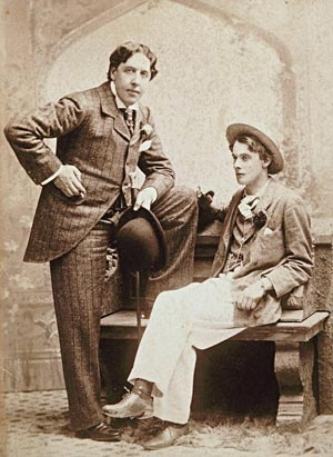 Lord Alfred Douglas And Oscar Wilde 2