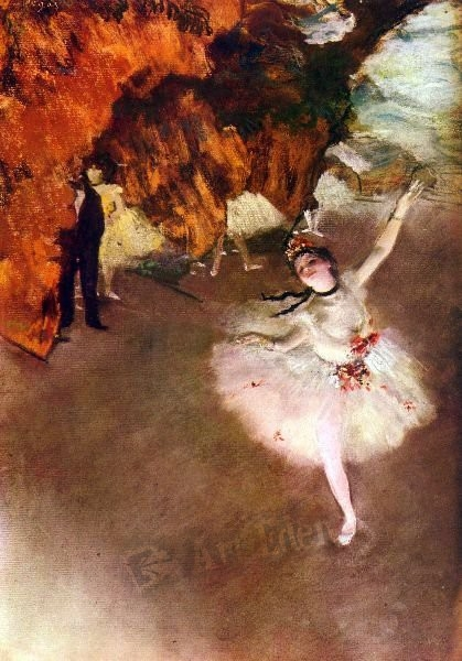 Prima Ballerina Degas-