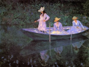 Monet-la barca