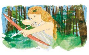 Atalanta, la eterna cazadora