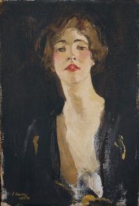 VioletTrefusis de John Lavery, 1919