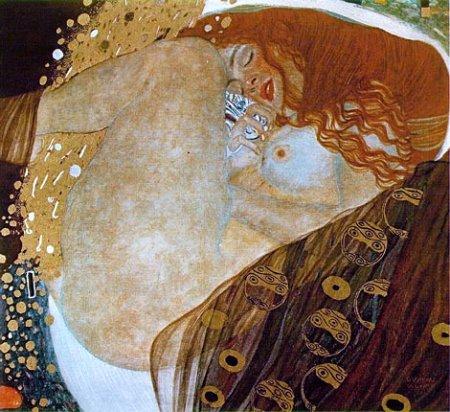 Danae(Klimt) Portrait of Friederike Maria Beer