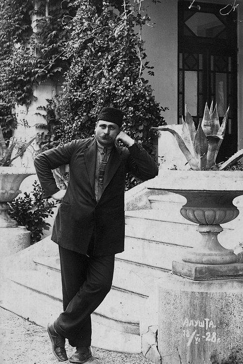Kurt Seyit en Aluşta, 1928