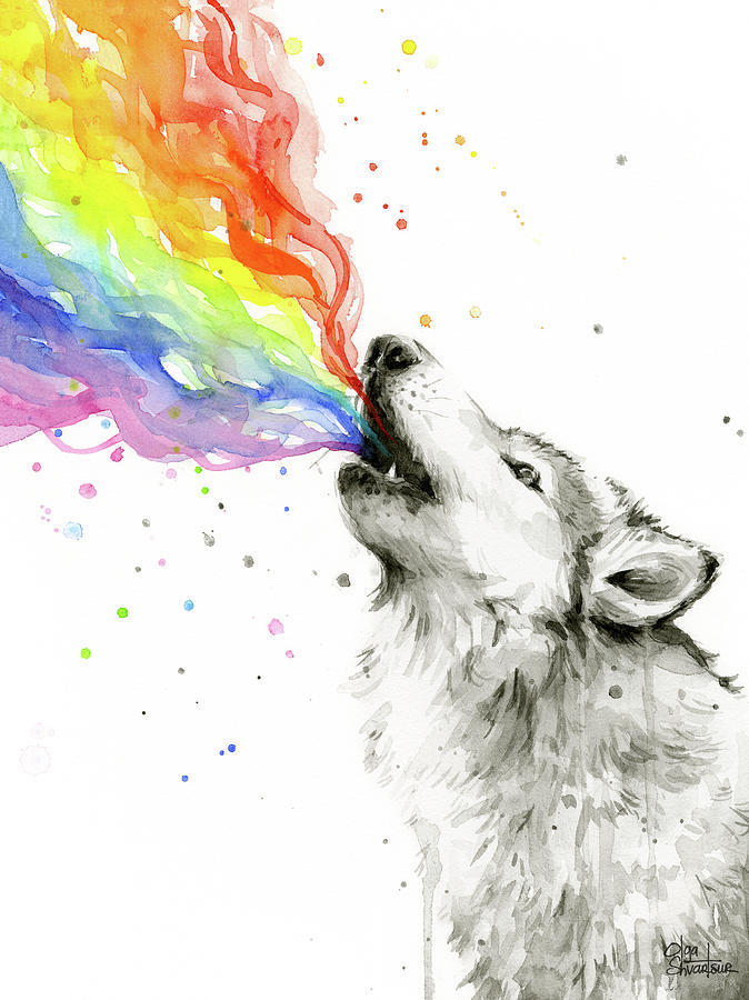 wolf-rainbow-watercolor-olga-shvartsur