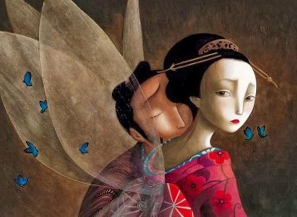 Benjamin Lacombe - Los amantes mariposa, 2008