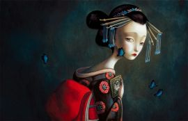Benjamin Lacombe_madame butterfly 459