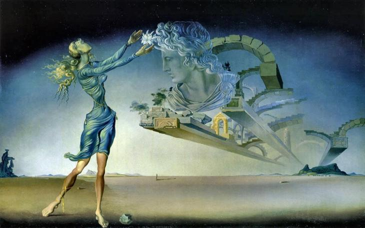 """Mirage"", de Salvador Dalí (1946)"