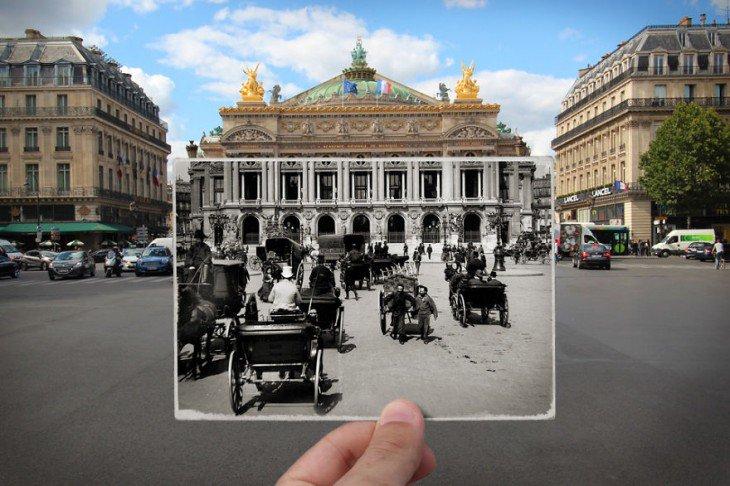 El-francés-Julien-Knez-combinó-fotos-antiguas-y-nuevas-de-París-2-730x486