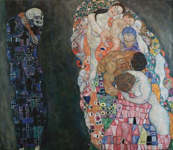 Muerte y vida- Gustav Klimt, 1908-1910