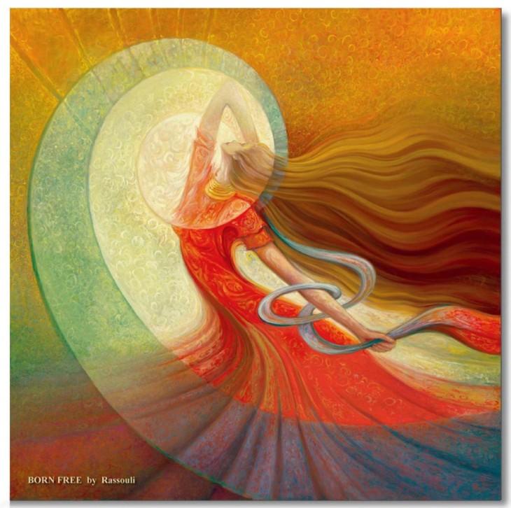 Rassouli-mystical-paintings-Born-Free-1030x1025