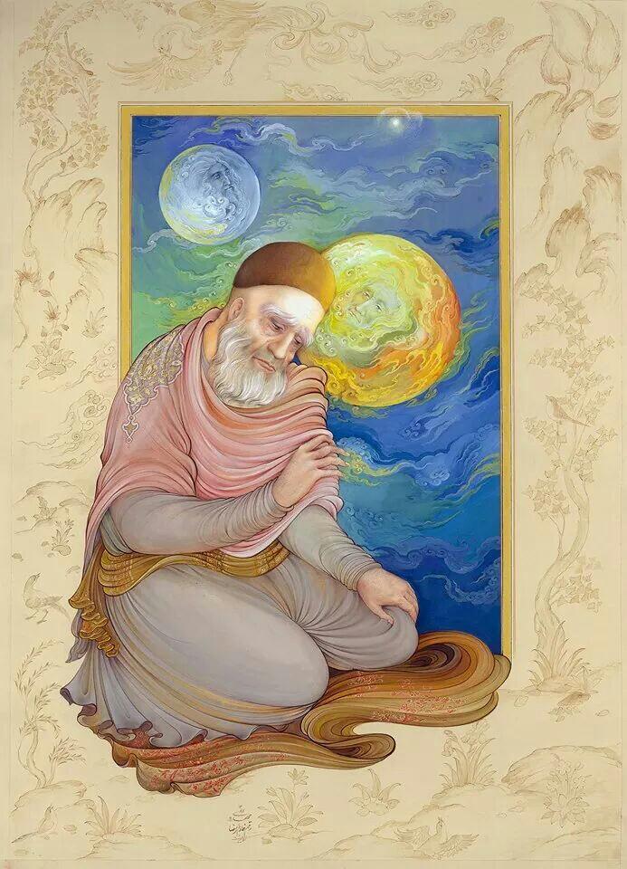 Rumi by Reza Mahdavi