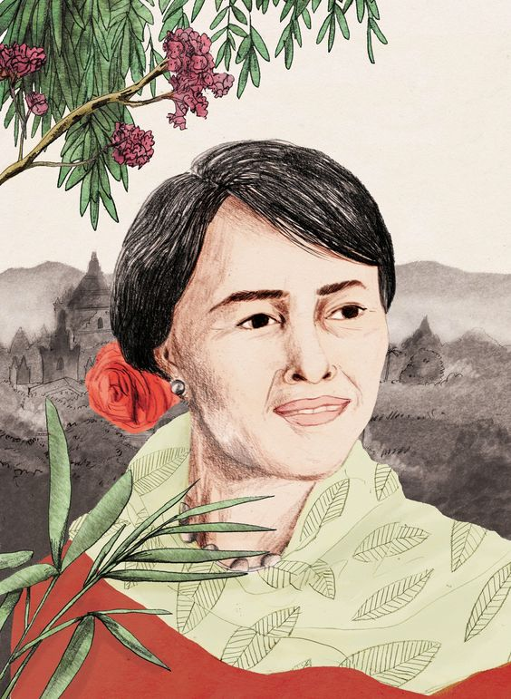 aung san suu kyi by lizzy stewart