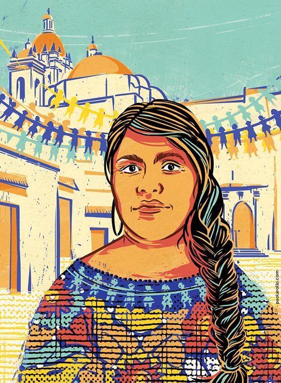 Eufrosina Cruz (Illustration by ©Paola Rollo)