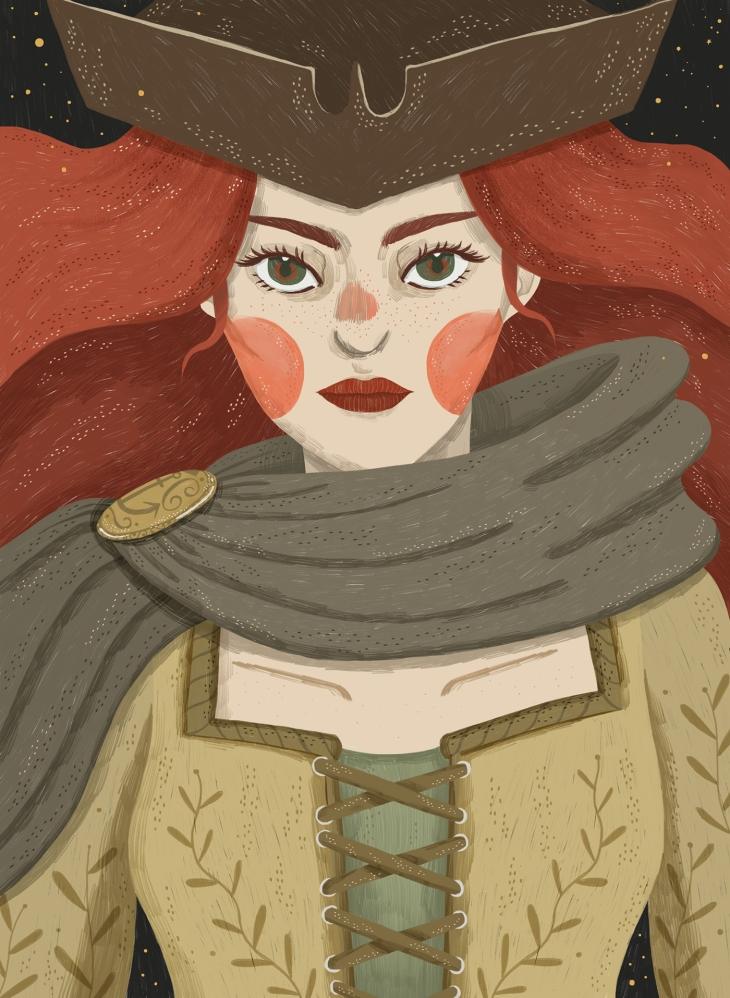 Grace O'Malley by Kathrin Honesta