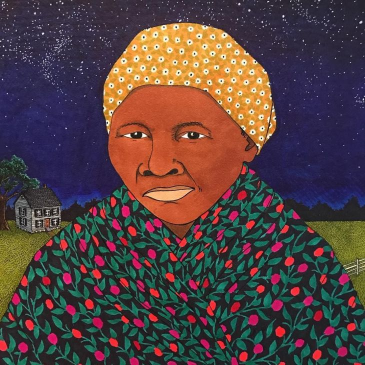 Harriet Tubman Illustration by Sally Nixon