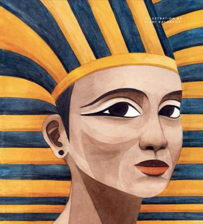 Hatshepsut Illustration by Eleni Kalorkoti