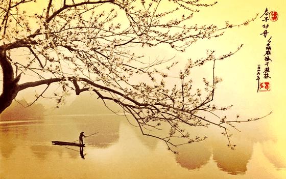 hombre-en-barca-simbolizando-un-haiku-