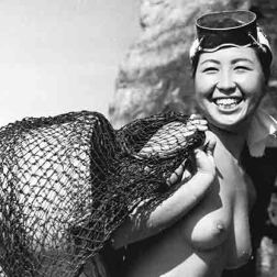 Japanese pearl divers 1950s