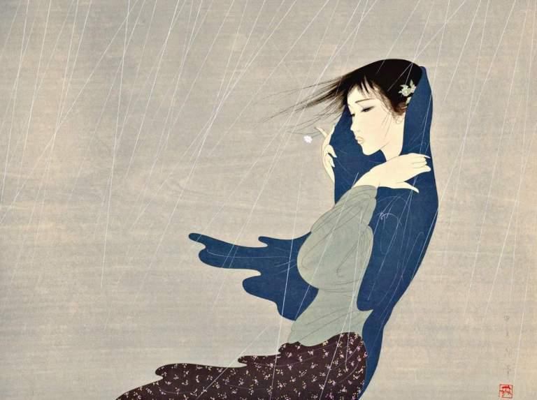Llovizna, de Kiyoshi Nakajima.