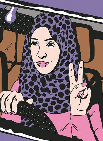 Manal Al-Sharif (Illustration by Kate Prior).jpg