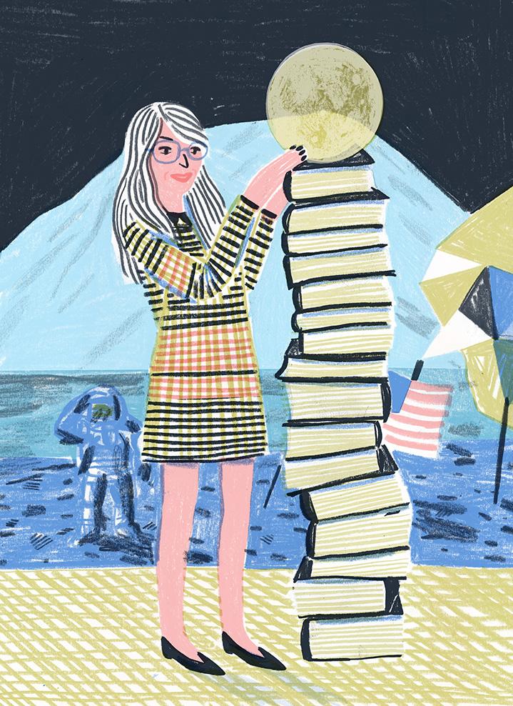 Margaret Hamilton (Illustration by Edith Carron)