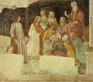 Botticelli lorenzo tornabuoni