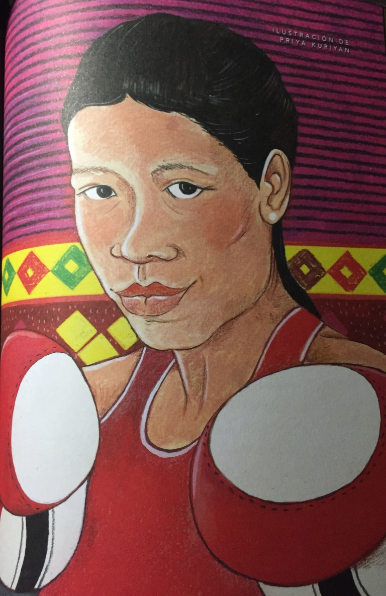 Mary Kom (Illustration by ©Priya Kuriyan)