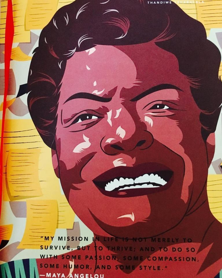 Maya Angelou (Illustration by Thandiwe Tshabalala.jpg