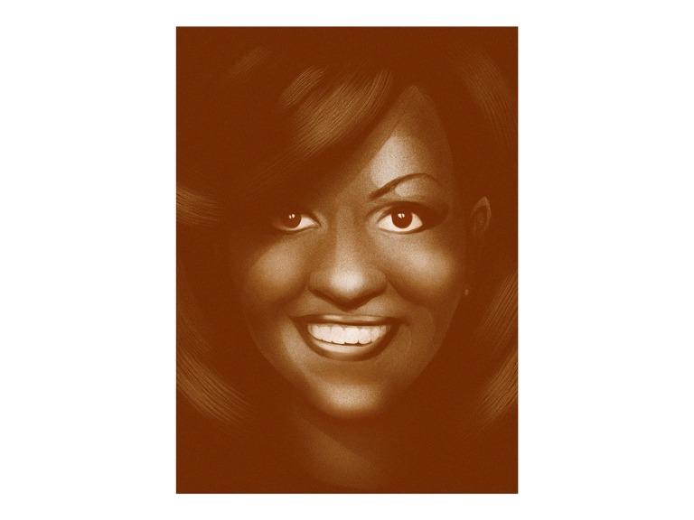 Michelle Obama (Illustration by ©Marta Signori)