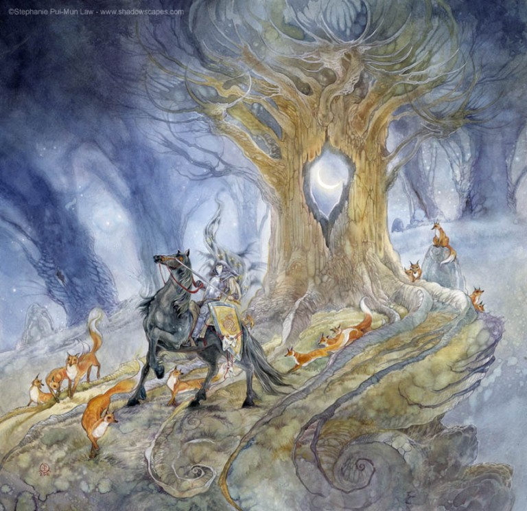 Fairytales & Mythology Black Knight of Dark Night.jpg