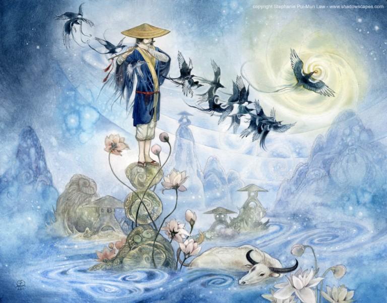 Fairytales & Mythology  Bridge of Wings - The Herder.jpg