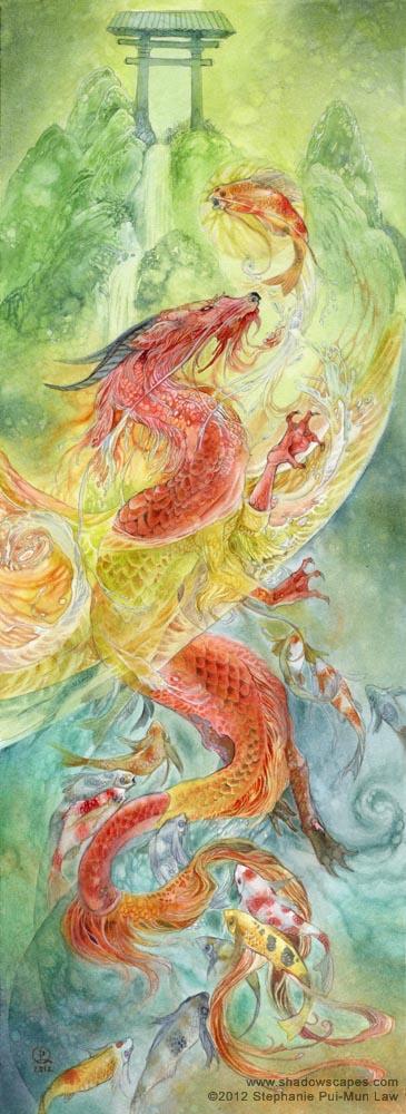 Fairytales & Mythology Climbing the Dragon Gate III.jpg