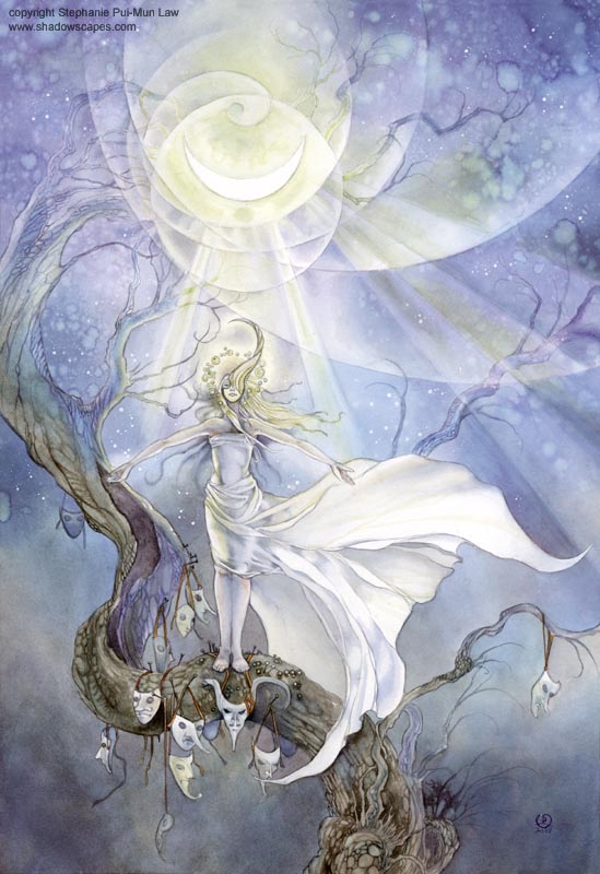 fairytales & mythology cycles moonbathing