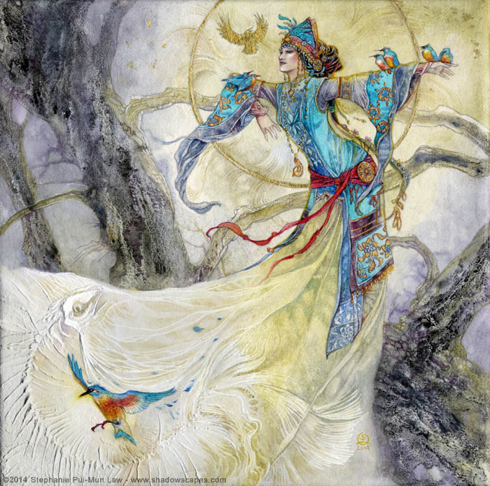 Fairytales & Mythology  Yexian - Of Kingfishers and Bones.jpg