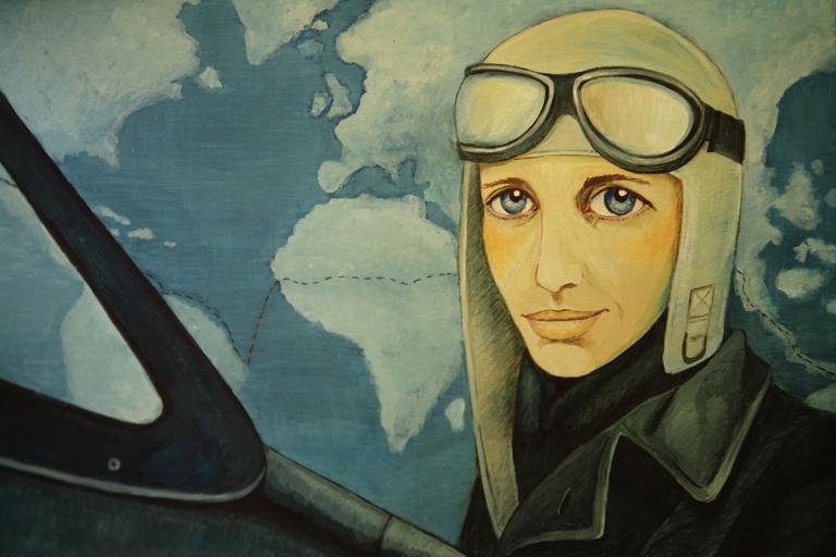 Amelia Earhart ©Isabel Ruiz.jpg