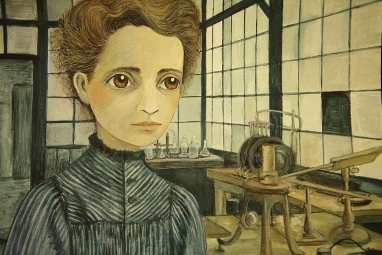 Marie Curie-White ©Isabel Ruiz.jpg