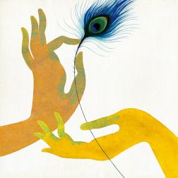 peacock+hands