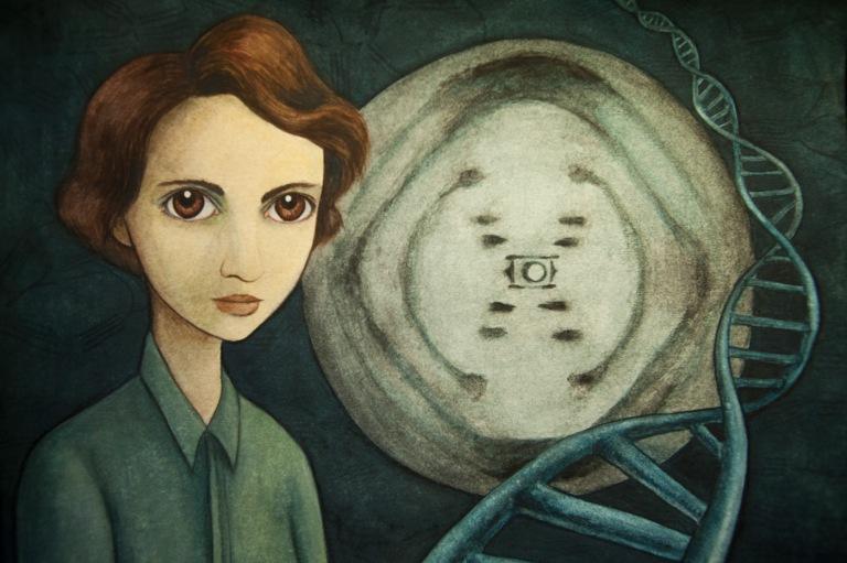 Rosalind Franklin. ©Isabel Ruiz.jpg