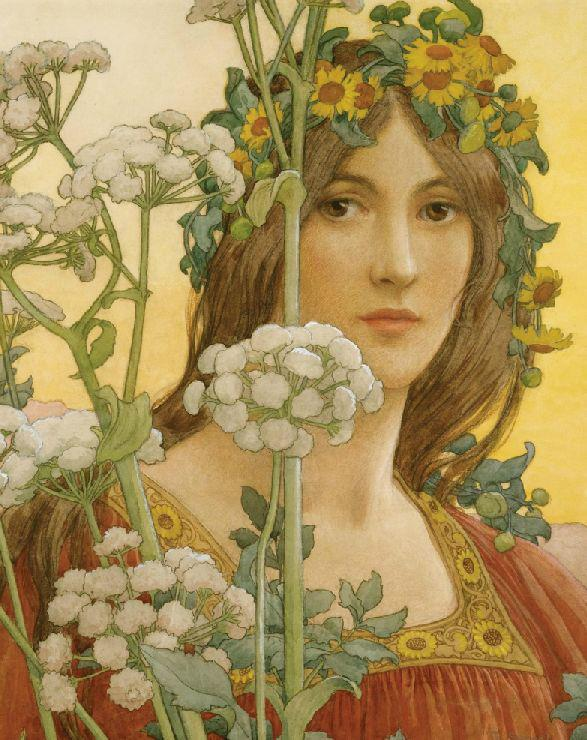 Elisabeth Sonrel - Our Lady of the Cow Parsley