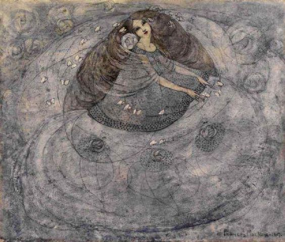 Frances MacDonald - Girl and Butterflies, 1907.jpg